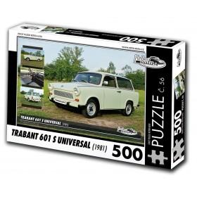 Trabant 601 S Universal, 500 dílků, puzzle 56