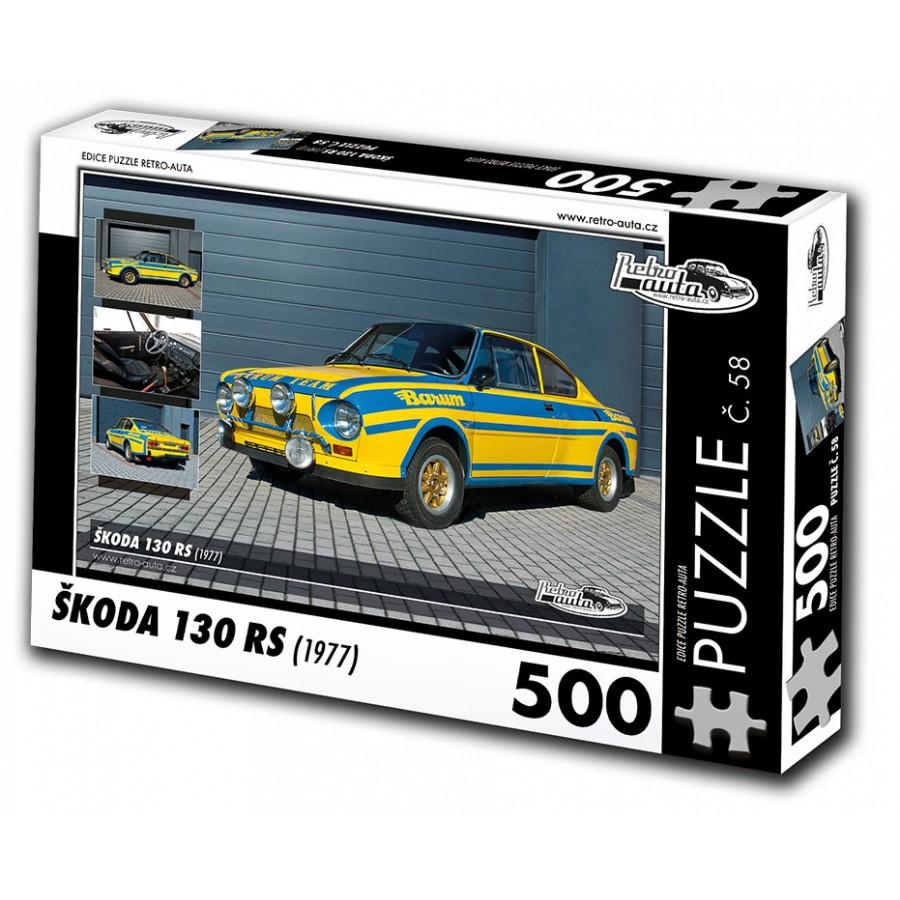 Škoda 130 RS, 500 dílků, puzzle 58