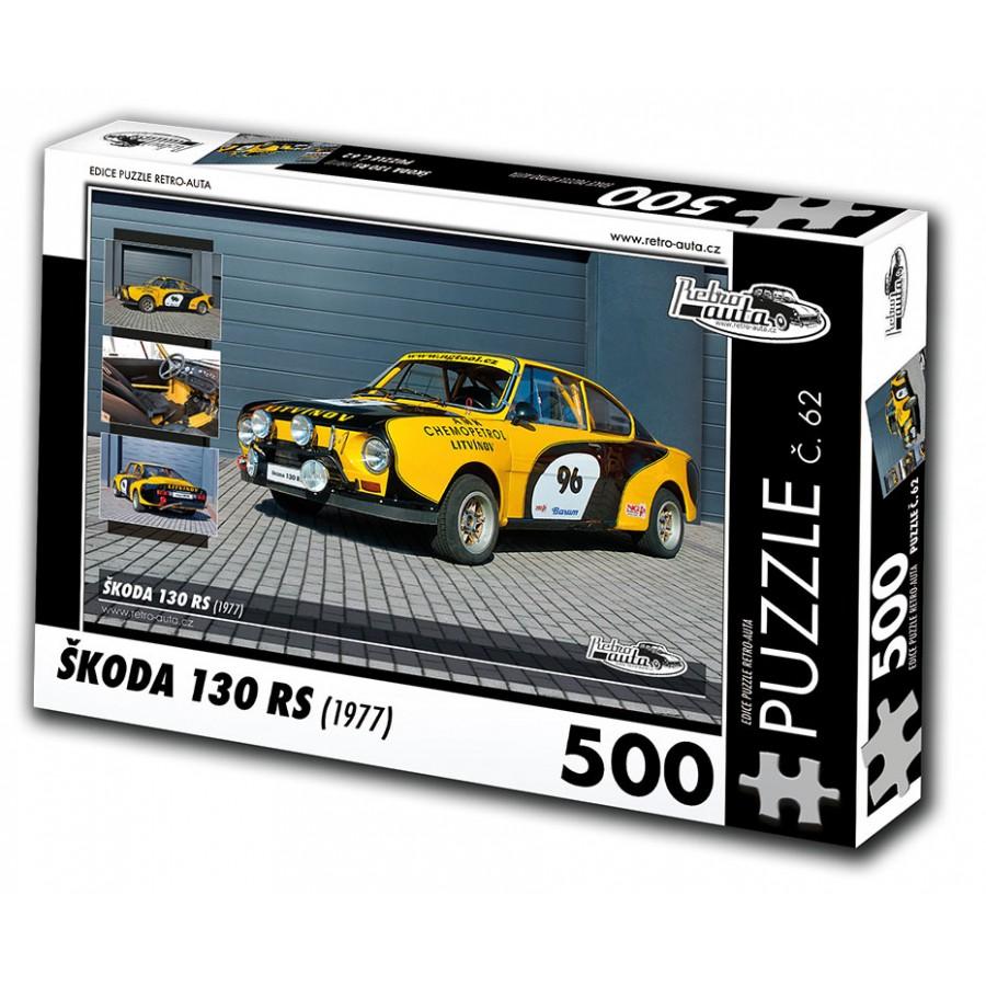 Škoda 130 RS, 500 dílků, puzzle 62