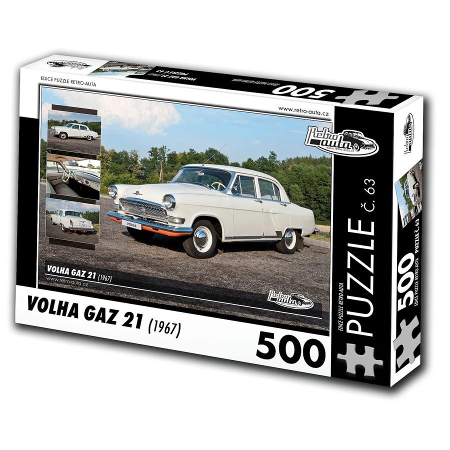 Volha GAZ 21, 500 dílků, puzzle 63