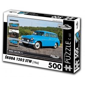Škoda 1202 STW, 500 dílků, puzzle 65