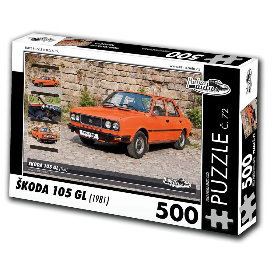 Škoda 105 GL, 500 dílků, puzzle 72