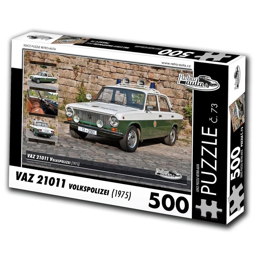 VAZ 21011 Volkspolizei, 500 dílků, puzzle 73