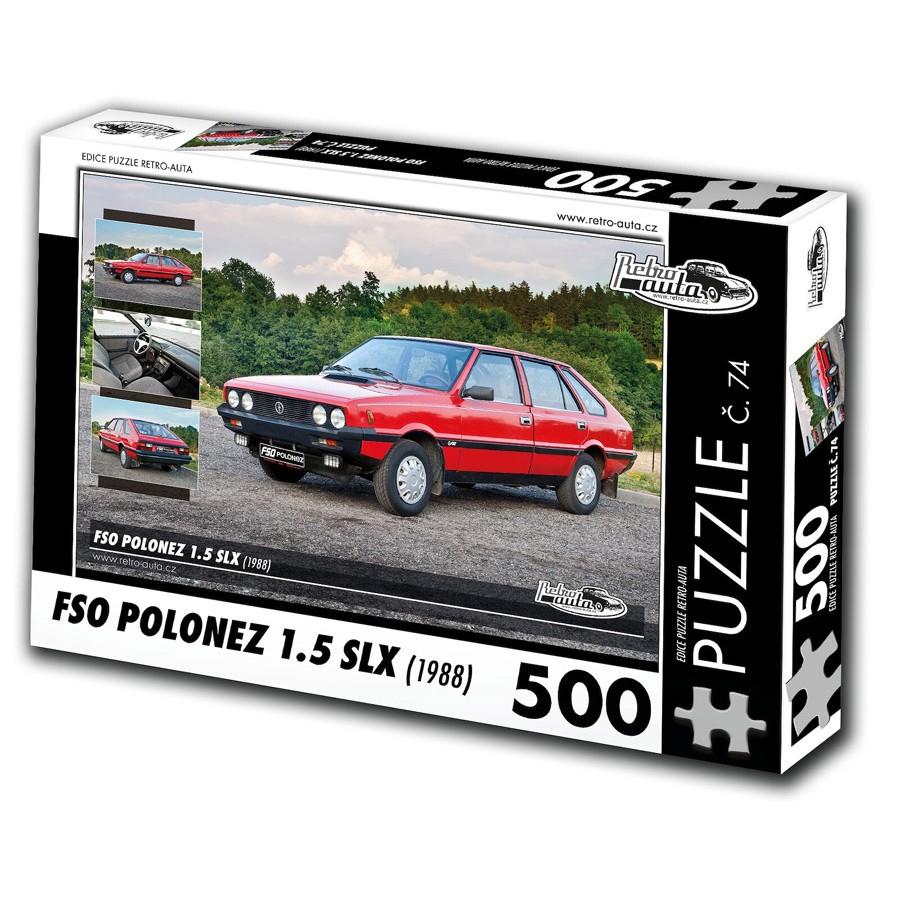 FSO Polonez 1.5 SLX, 500 dílků, puzzle 74