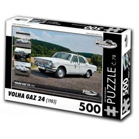 Volha GAZ 24, 500 dílků, puzzle 78