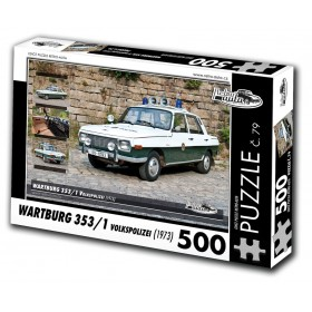 Wartburg 353/1 Volkspolizei, 500 dílků, puzzle 79