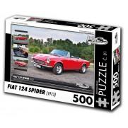 FIAT 124 Spider, 500 dílků, puzzle 81
